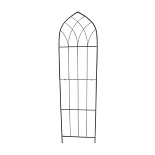 Tuscola 1 Piece Metal Gothic Trellis By Brambly Cottage