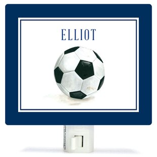 Oopsy Daisy Personalized Sports and Games Soccer Ball Canvas Night Light