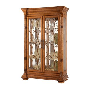Tommy Bahama Home Island Estate Mariana Lighted Curio Cabinet