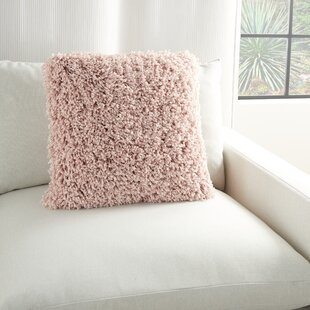 20 Square Faux Fur Throw Pillows Free Shipping Over 35 Wayfair