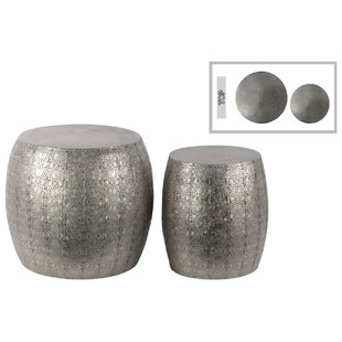 2 Piece End Table Set by Urban Trends