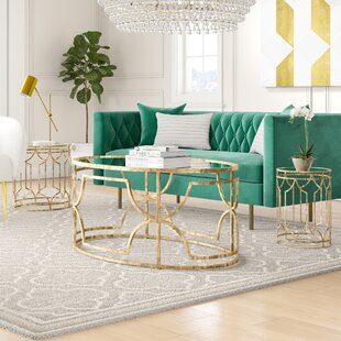 Top Reviews Taraji 3 Piece Coffee Table Set By Willa Arlo Interiors