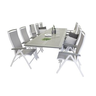 Jayesh Extendable Dining Set With 10 Chairs By Sol 72 Outdoor