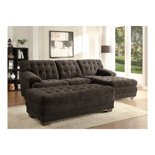 Homelegance Brooks Sectional with Ottoman