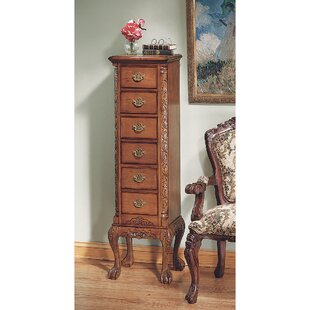 English Chippendale 6 Drawer Accent Chest by Design Toscano