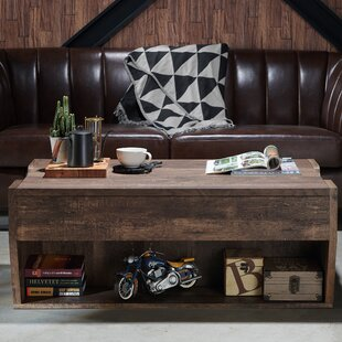 Gracie Oaks Macsen Edwards Lift Top Coffee Table