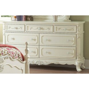 Great Price Kellan 7 Drawer Standard Dresser by Astoria Grand