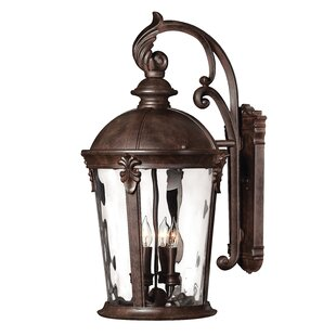 Best Reviews Windsor 4-Light LED Outdoor Wall Lantern By Hinkley Lighting