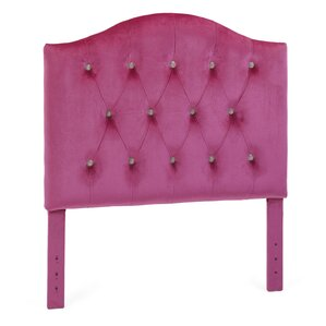 Beebe Twin Upholstered Headboard by Zoomie Kids