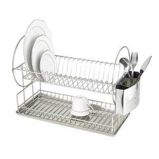 Orrie Dish Rack with 2 Levels by Metro Lane