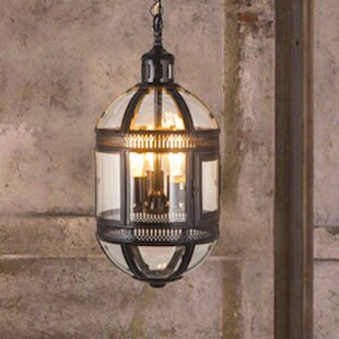 Fashion N You by Horizon Interseas 3-Light Capsule Hanging Lamp