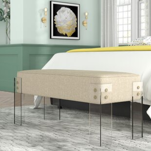 Fortune Upholstered Bench by Willa Arlo Interiors Herry Up
