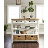 Trisha Yearwood Home Country Line Kitchen Island by Trisha Yearwood Home Collection