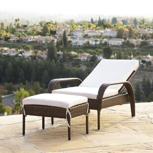 Banker Patio Chair with Cushion