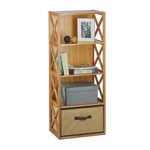 Babbie 4 Tiers 42 X 105cm Bathroom Shelf With Basket By Brambly Cottage