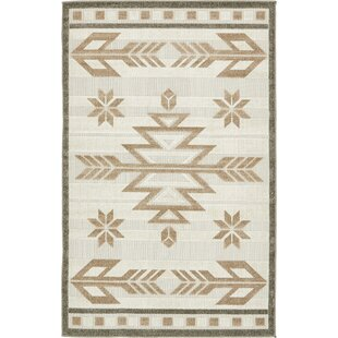 El Reno Beige Indoor/Outdoor Area Rug