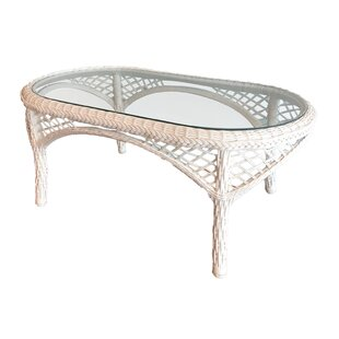 Check Out Elkin Resin Wicker Coffee Table Great price