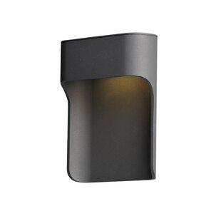Brayden Studio Saddler LED Outdoor Flush Mount