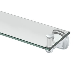 Gatco Lucerne Glass Wall Shelf