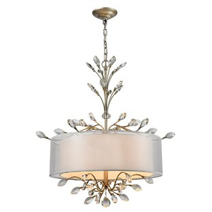 House of Hampton Turner 4-Light Chandelier