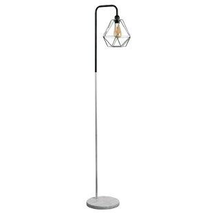 Silverchrome floor lamps wayfair talisman 153cm floor lamp mozeypictures Image collections