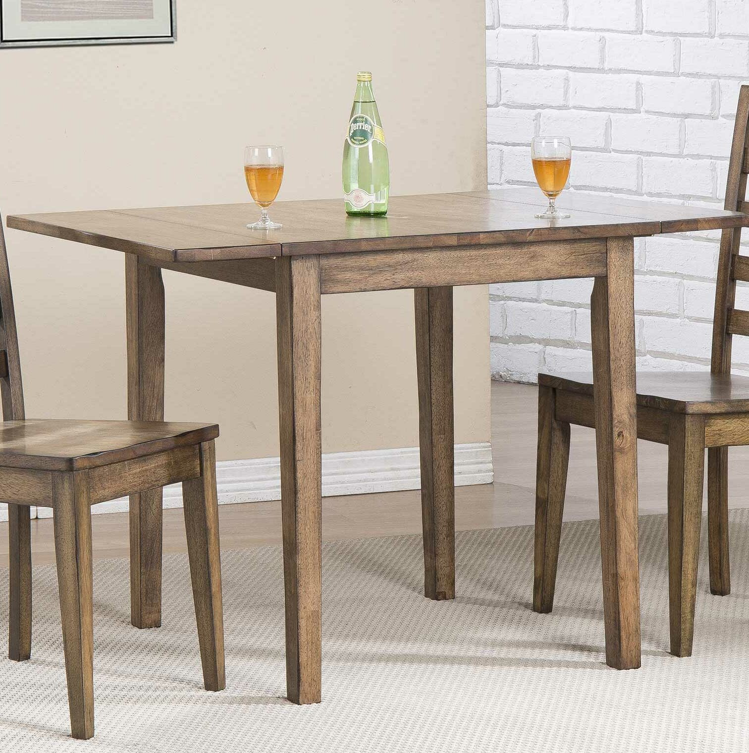 Rosecliff Heights Rutledge Drop Leaf Dining Table Reviews Wayfair