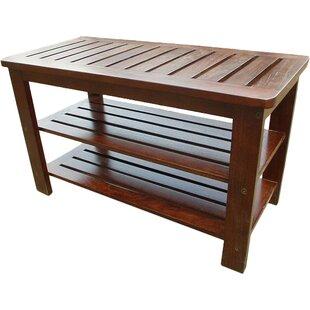 Latitude Run Sartell Wood Storage Bench