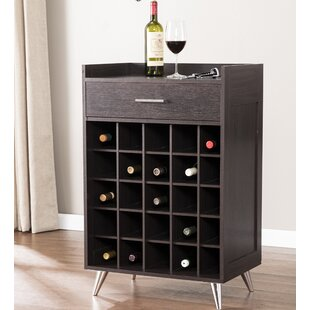 Seiling 25 Bottle Floor Wine Rack by Ivy Bronx