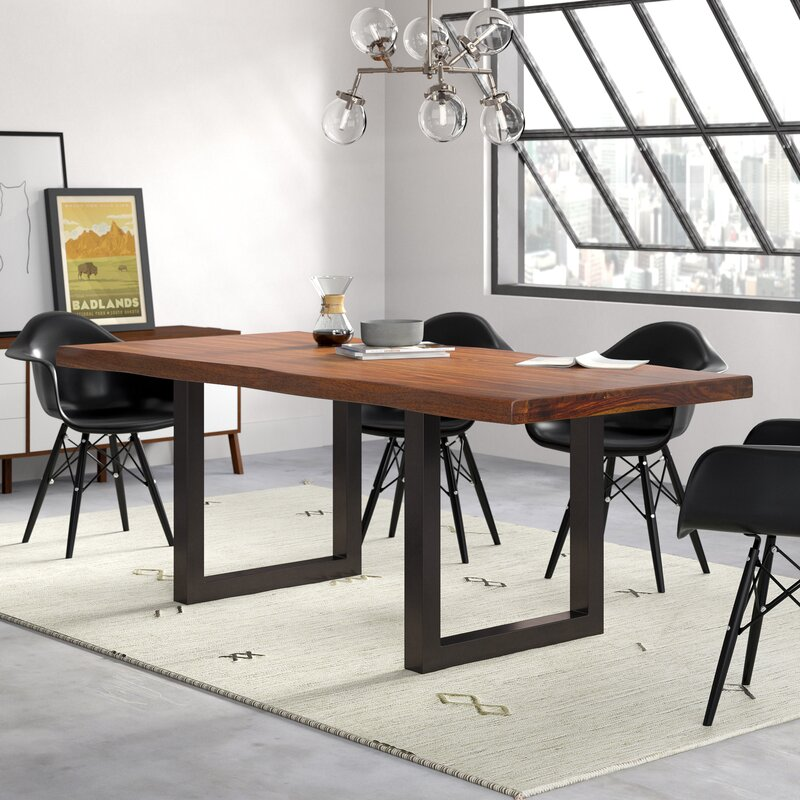 Tralee Solid Wood Dining Table Reviews Allmodern