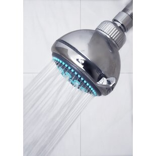 COBY 5-Spray Premium Multi Function Fixed Shower Head