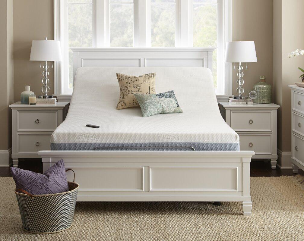 Alwyn home upholstered wireless adjustable bed base reviews upholstered wireless adjustable bed base jeuxipadfo Choice Image