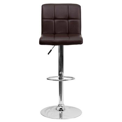 Swell Zipcode Design Hirano Adjustable Height Swivel Bar Stool Ncnpc Chair Design For Home Ncnpcorg