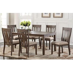 Darby Home Co Daysi 7 Piece Breakfast Nook Dining Set