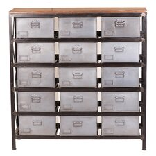 15 Drawers Accent Chest by Yosemite Home Decor