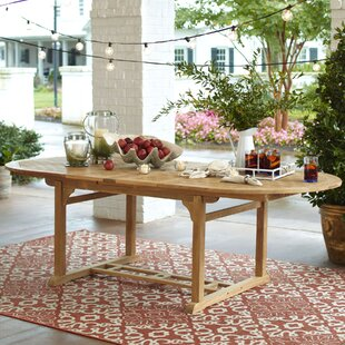 Savings Summerton Extendable Dining Table Purchase & reviews