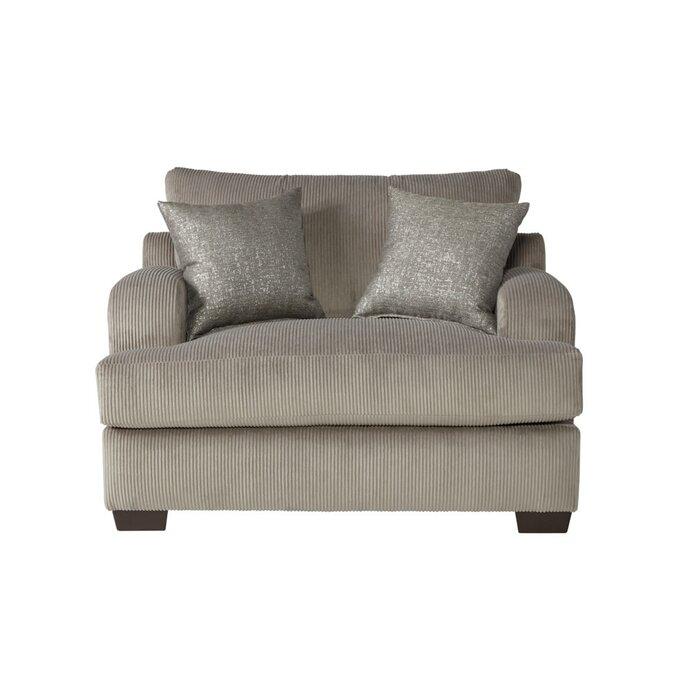 Alcott Hill Handler Chair And A Half Reviews Wayfairca