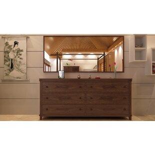 Cranleigh 6 Drawer Dresser by Loon Peak