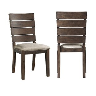 Burkhart Upholstered Dining Chair (Set of 2) Gracie Oaks
