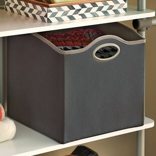 Online Reviews Small Fabric Storage Bin By ClosetMaid