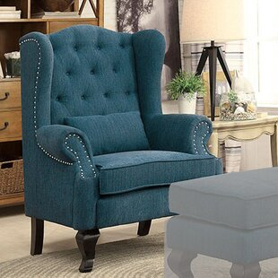 Darby Home Co Enyeart Traditional Wingback Chair