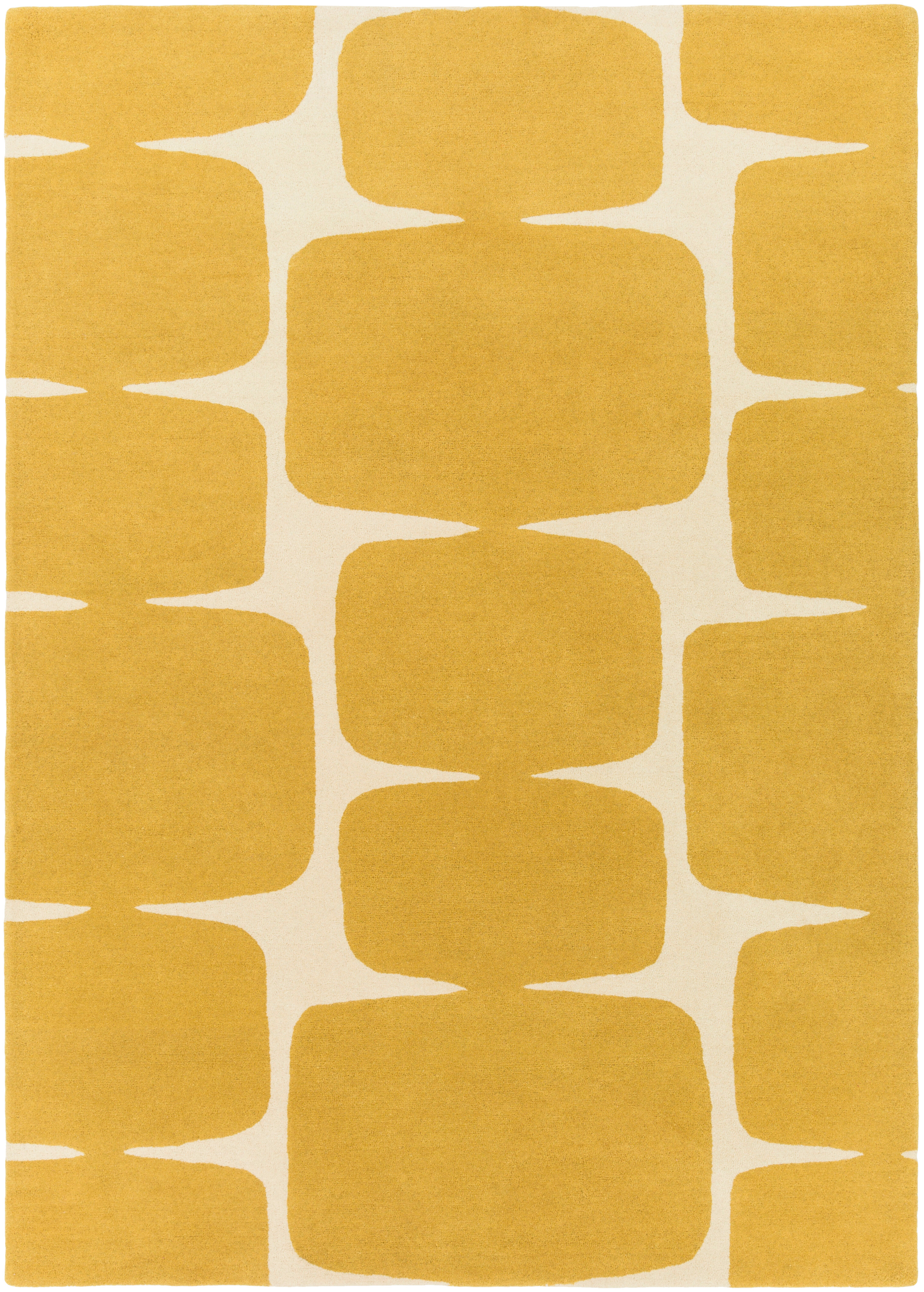 Wool Yellow Gold Area Rugs You Ll Love In 2021 Wayfair