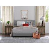 Nena Tufted Upholstered Low Profile Platform Bed by Orren Ellis