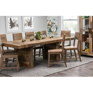 Norman Extendable Solid Wood Dining Table