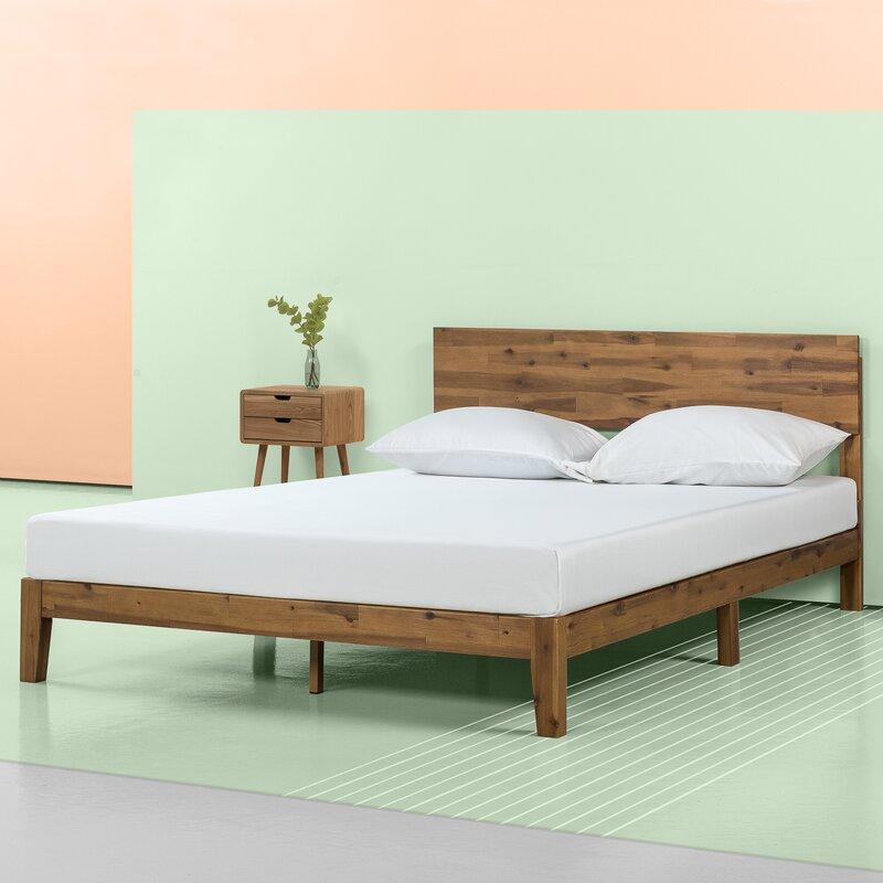 Eclectic Bedroom Bed