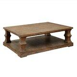 Arizona Floor Shelf Coffee Table with Storage by Beachcrest Home™