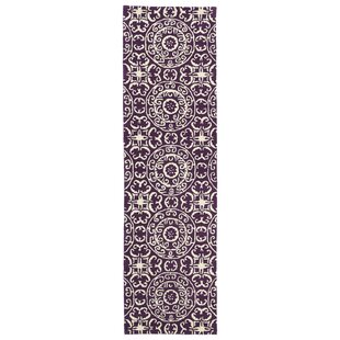 Price comparison Corine Purple Area Rug By Charlton Home