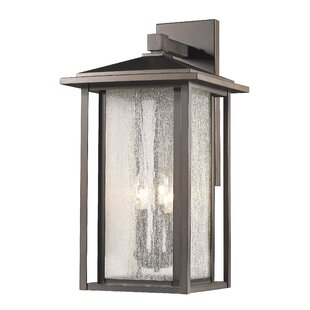 Hungate 3-Light Outdoor Wall Lantern by Bloomsbury Market
