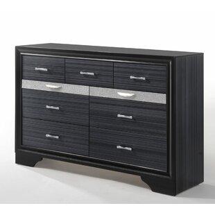 Jules 9 Drawer Double Dresser
