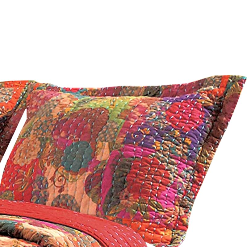 Bloomsbury Market Artrell Fruit Reversible Quilt Set Wayfair