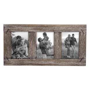 9073fa247cd Warriner Weathered Three Picture Frame